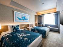 ホテルJALシティ札幌 中島公園×白い恋人コラボレーションルーム<ツイン>