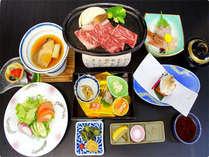 【夕食グレードアップ!】ワイン+和牛ステーキ付き☆