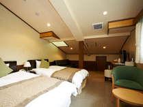 ホテル旬香 鳥取大山リゾートの2階にある広めのお部屋です。