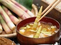 手作り味噌、野沢の地産地消のおいしい料理をお召し上がり下さい。