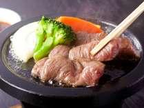 奈良のブランド「大和牛」の石版焼