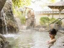 【大浴場】壱の湯露天風呂