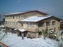 ☆12月~3月末☆【素泊り】大山の自然を間近に感じる♪窓のそとはすぐ大山★