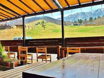 【春~秋限定♪】大山北壁が目前の絶景カフェで朝食を♪山陰の旬を味わう≪2食付き≫平日のみ