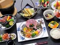 【夕食】懐石一例位/月替わり