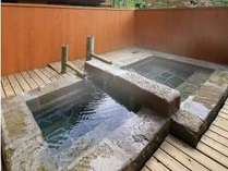 離れ【天泉/山側】客室露天風呂