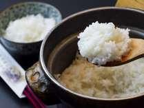 夕食/土鍋で炊き上げた絶品白米一例