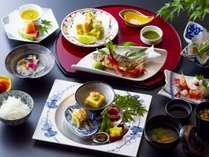 夕食:京風懐石