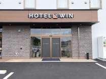 HOTEL WIN玄関