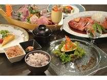 元日本大使館総料理長が送る、伊豆の幸いっぱいのお箸で食べる和洋折衷ディナー♪(写真一例)