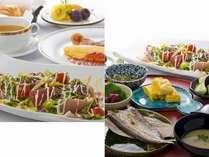 朝食はチェックイン時に和食or洋食をチョイス
