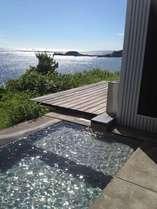 お天気が良いと、露天風呂からは満天の星が見えます!