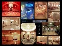 【指宿こころの湯】当ホテルに併設しており、テーマパークのように色々な湯巡りが楽しめます