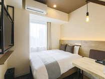 【客室】ダブルルーム/禁煙/16平米/160cm幅ベッド1台