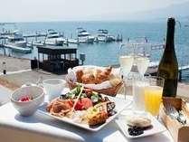 【早割14】地元食材を使った「こだわりの朝食」 琵琶湖の眺望を見渡しながら「特別なひと時を」