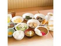 ホテルパ-クイン富山のご朝食です