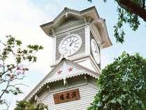 ◆時計台◆毎正時に鳴る鐘の音を聴かせてくれる歴史的建造物