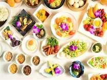 朝食バイキング☆日替わりのメニューがお楽しみ頂けます。