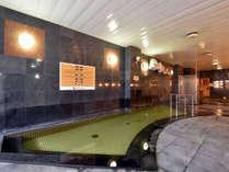 【大浴場】日帰り入浴としても人気の温泉で、地元の皆様の憩いの場となっております。