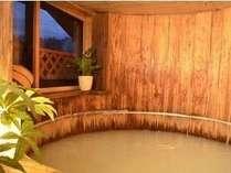 樽風呂 湯船