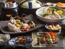 【味覚会席プラン】1日4組様限定・・・いつもよりワンランク上のお食事を・・°・.。●。