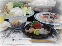 紀州名物「高級食材 クエ」を使った炊き合わせ鍋