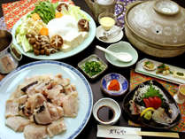 紀州名物「クエ」を使った炊き合わせ鍋をご用意♪