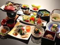 【春夏秋冬】旬の会席料理と地粉そば、岩魚の囲炉裏焼≪一番人気のプランです≫