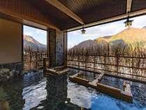 【大浴場】季節毎に変わりゆく景色をお愉しみ下さい