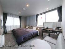 広々とした室内空間、ベッドでお休みだけでなく「おへや時間」も充実