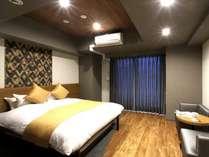 【ダブルルーム】シモンズベッド完備★ダブルベッド1台のお部屋★ビジネス利用にピッタリなお部屋です♪