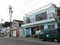 当館は篠島の数あるお宿の中でも老舗中の老舗!
