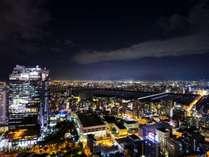 ホテルからの夜景(東)