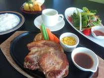 【期間限定】ボリューム満点★美湯豚ステーキ300g★垂水グルメを味わい尽くそう!