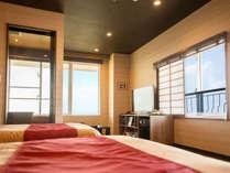 【全室オーシャンビュー】薩摩半島にある開門岳、通称薩摩富士を望めます