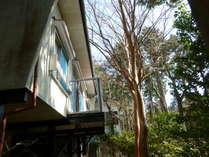 源泉掛け流し温泉付きの貸切別荘「安吏樹リゾート熱川」 (静岡県)