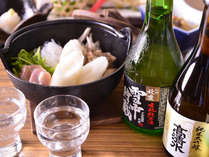 *お夕食一例/米どころ秋田ならではの銘酒とともにどうぞ!