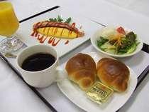 選べる朝食(洋食一例)