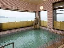 海一望の展望浴場からは日本海の大パノラマを☆
