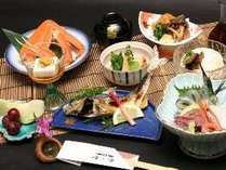 季節の会席【お気軽♪磯ノ香コース】(ご夕食一例。お食事内容が変更になる場合がございます。)