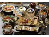 松茸を中心とした食材でおもてなしグルメアワード出品料理か松茸料理が選べるごちそう 秋の彩会席プラン
