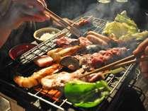 【BBQ】いろんな食材をお好きな焼き加減で…♪
