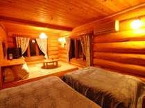 【ピーターパン】1階の寝室です。お布団&ベッドでのんびり~♪