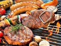 【蒜山産食材のBBQ】蒜山ジャージー牛肉、ソーセージ、蒜山産野菜で蒜山づくしのバーベキュー!