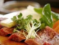 【料理一例】飛騨牛ステーキ