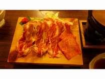 【料理一例】飛騨豚「ケントン」のしゃぶしゃぶ