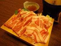料理一例・豚しゃぶしゃぶ