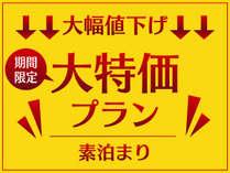 ◆大特価プラン◆