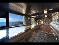 タワー館6階 太平洋を望む展望大浴場
