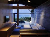 【燦然峰-sanzenhou-】窓の向こうはオーシャンビュー。朝、昼、夜と違う表情に魅せられる